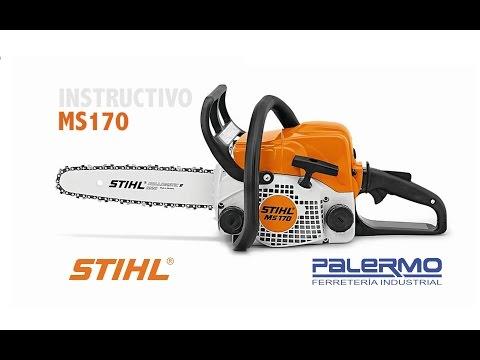 Instructivo / Tutorial motosierra Stihl MS170 – Ferreteria Palermo