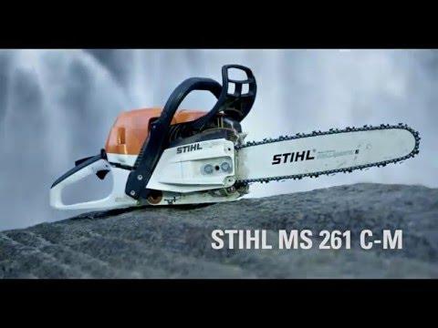 Motosierra STIHL MS 261 C-M