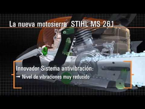 Motosierra STIHL MS 261