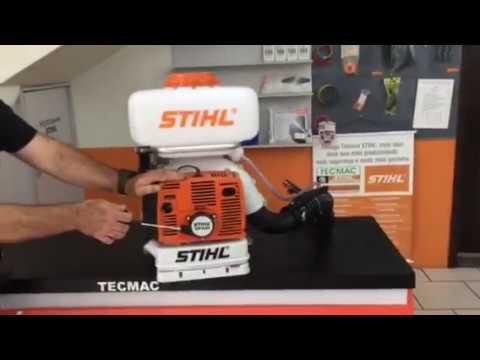 Pulverizador Stihl Sr 420 Funcionamento Correto