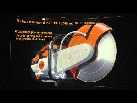 La nueva tronzadora STIHL TS 500i