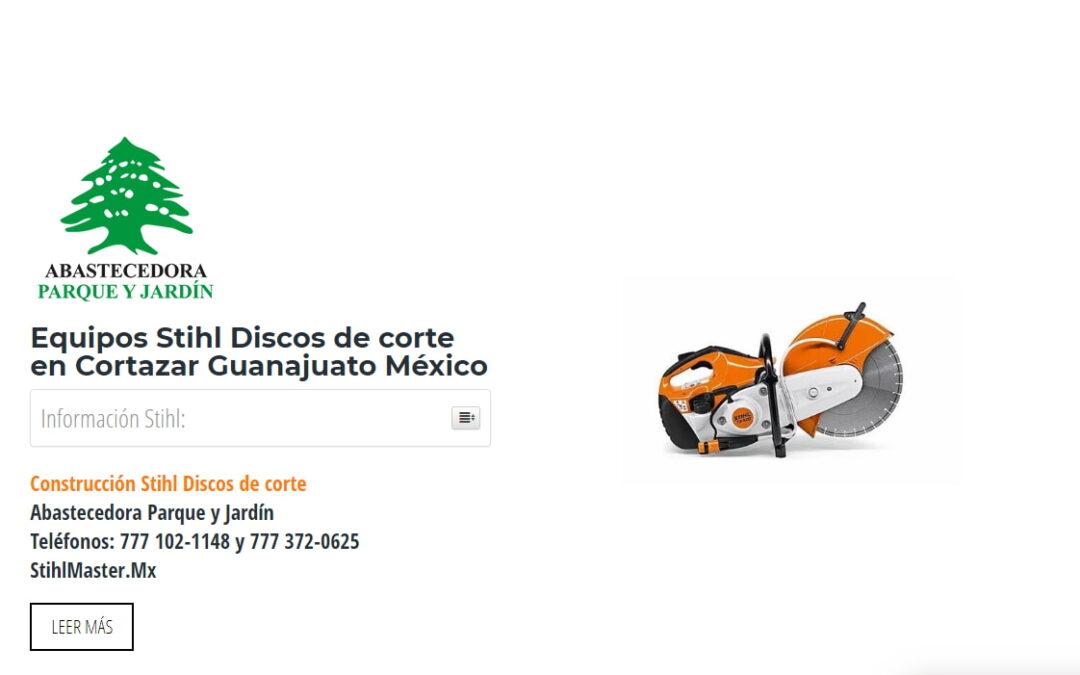 Equipos Stihl Discos de corte en Cortazar Guanajuato México