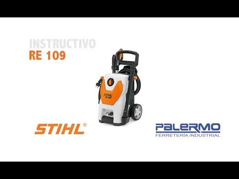 Instructivo / Tutorial de hidrolavadora STIHL RE109 – Ferreteria Palermo