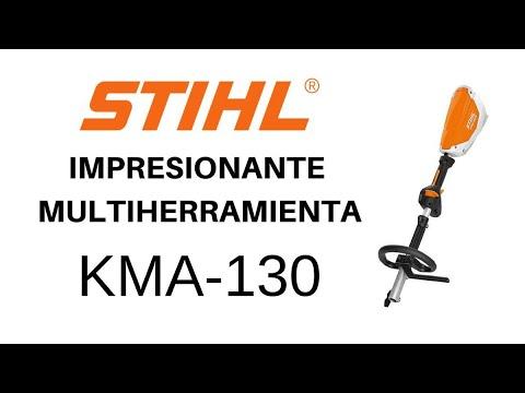 SÚPER MULTIHERRAMIENTA STIHL KMA-130