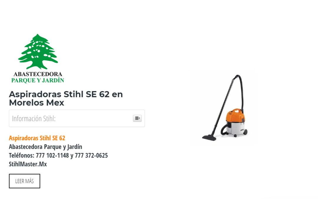 Aspiradoras Stihl SE 62 en Morelos Mex