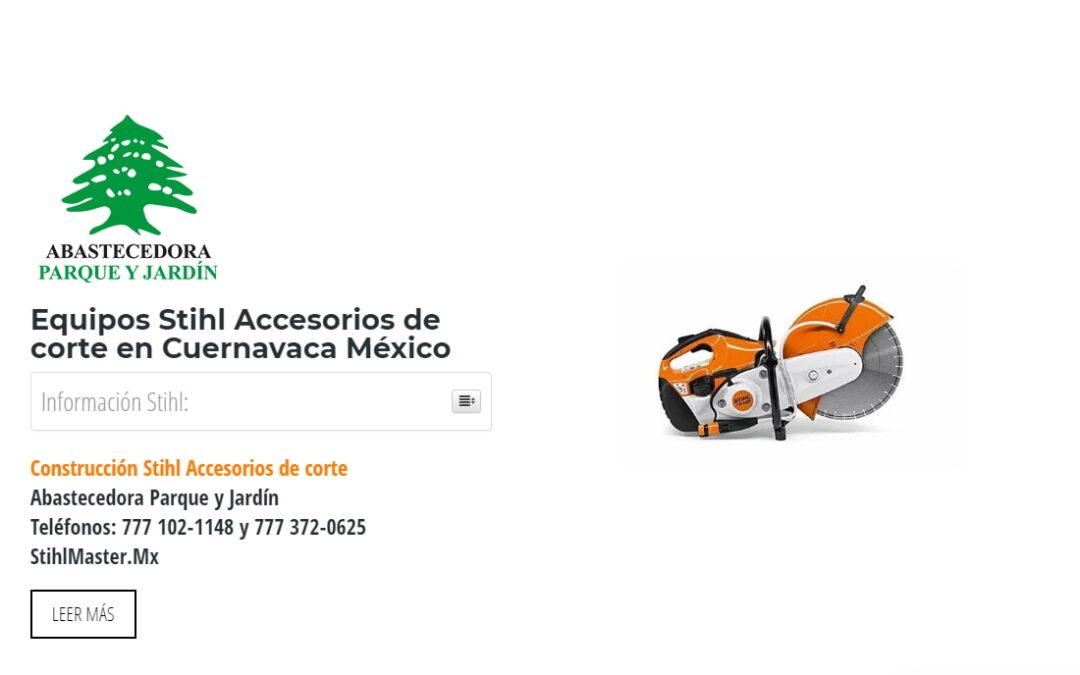 Equipos Stihl Accesorios de corte en Cuernavaca México