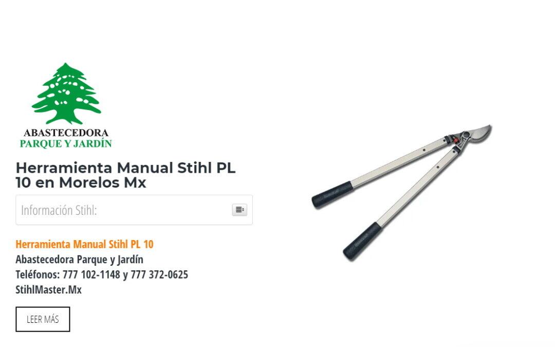 Herramienta Manual Stihl PL 10 en Morelos Mx