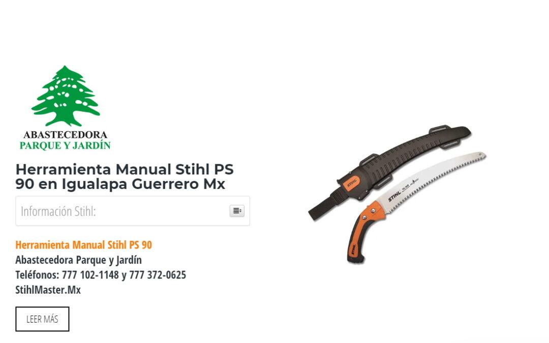 Herramienta Manual Stihl PS 90 en Igualapa Guerrero Mx