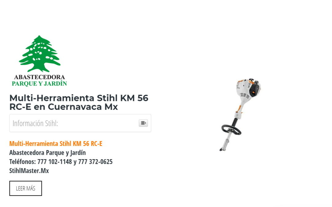 Multi-Herramienta Stihl KM 56 RC-E en Cuernavaca Mx
