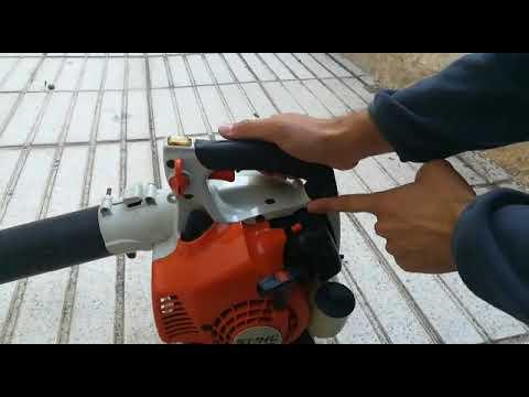 Como Arrancar una Sopladora Marca STIHL