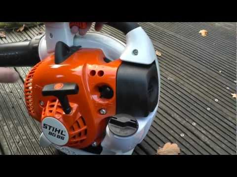 Stihl BG 86 Start Up