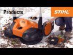The STIHL sweeping machines