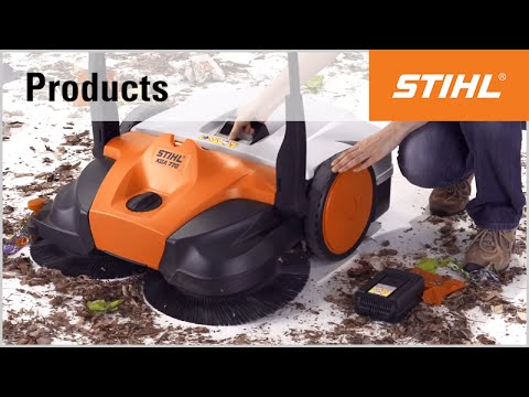 The STIHL sweeping machines