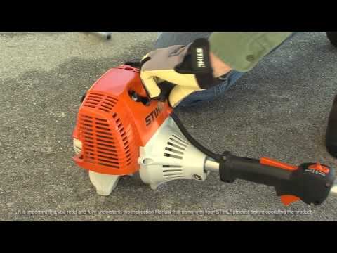 STIHL KM 110 R KombiMotor – How to Unflood