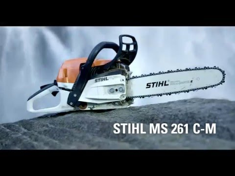 Stihl MS 261 C-M chain saw