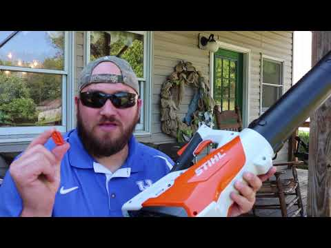Stihl BGA 45 leaf blower review!