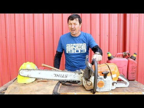 STIHL CHAINSAW'S Dirty Little Secret