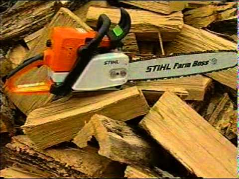 How to Start a Stihl Chain Saw