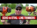 ECHO SRM-2620T vs STIHL FS90R LINE TRIMMER COMPARISON
