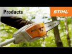The STIHL cordless pole pruners HTA 65 and HTA 85
