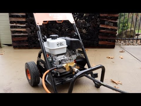 #278 STIHL RB 400 Pressure Washer Test and Review