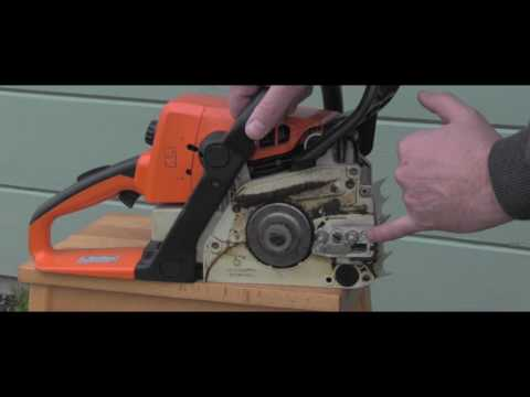 Stihl Chain Saw common oil leak areas