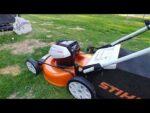 Stihl RMA510 Battery Powered Cordless Lawnmower Review.