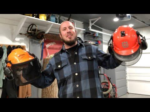 Husqvarna VS Stihl – Forestry Helmet Debate!