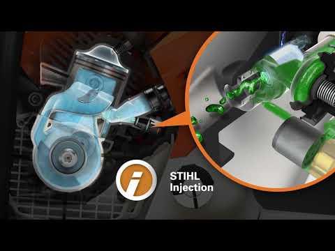 Inyección: el alma de la STIHL MS 500i
