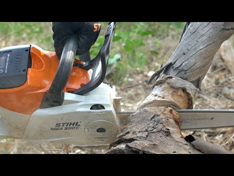 STIHL MSA 200 Cordless Chainsaw Review