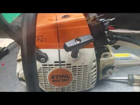 West Coast Muscle Saws Stihl Exhaust Issues
