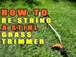Stihl Trimmer Line Replacement
