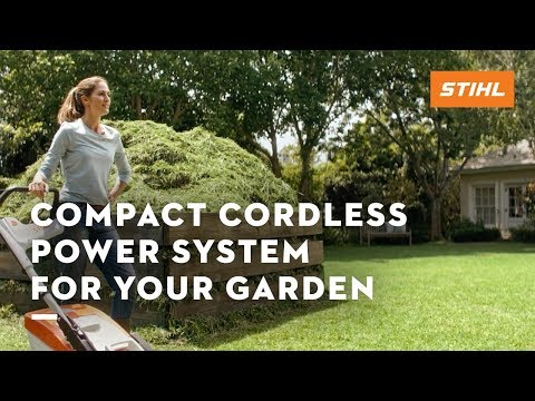 The STIHL COMPACT cordless garden tools (2019 TV commercial)