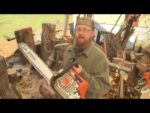 Reviewing the Stihl MS 250 chainsaw.
