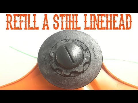 How to Refill a Stihl AutoCut C5-2 Linehead