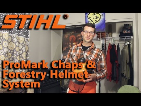 Stihl Forestry Helmet System and Pro Mark Chaps Reviewed.