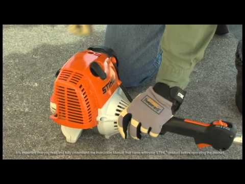 STIHL FS 110-  How to Start