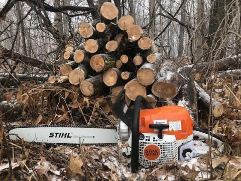 Stihl MS 391 review part 2