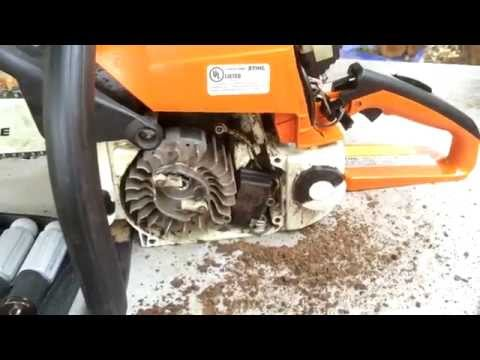 How To Troubleshoot and Tune Up a STIHL Chainsaw clip 4