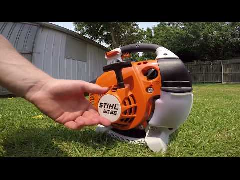 Stihl BG 86 blower (first impressions)