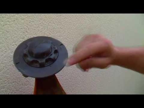 Explication | Changer le fil d'un rotofil Stihl facilement .