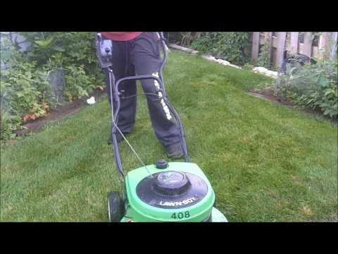 2000 Lawnboy 10401C,  B+D 8209 and Stihl BG86 In Action
