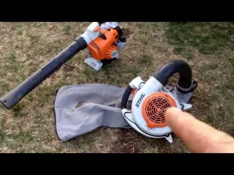 Stihl SH 86C – Blower and Shredder/Vac