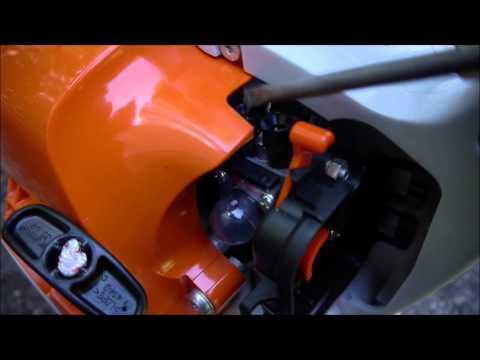 Stihl BG 55 Leaf Blower Muffler Mod & Carb Tuning