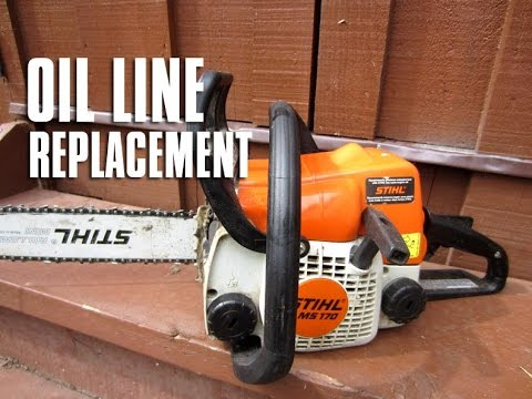 STIHL Chainsaw MS180/170 – 017/018 Oil Line Replacement