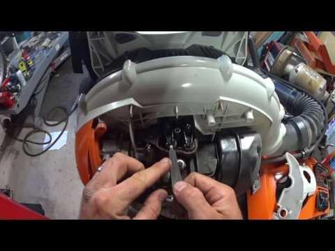 Stihl BR600 Blower Low Power Repair – Valve Adjustment