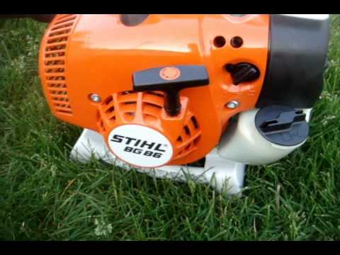 Reviewing the 2011 STIHL BG 86