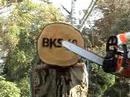 2 Motorsägen im Test : «OBI BKS 40   vs.  Stihl MS 180»