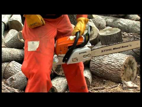 Chapter 9: Starting Your STIHL Chainsaw