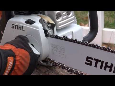 STIHL Product Feature: Quick Chain Adjuster